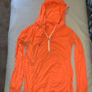 Light Orange Exercise Light Jacket